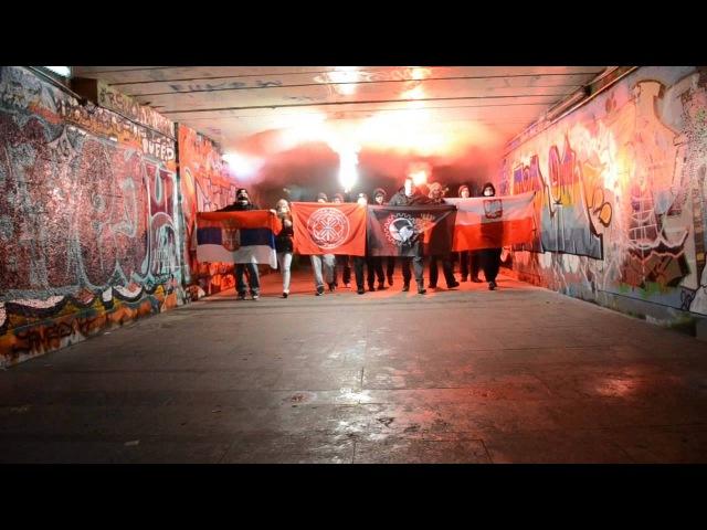 Demonstracja Kosowo jest serbskie 16 02 2013
