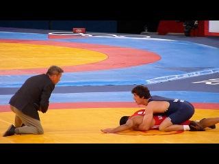 Zurabi Datunashvili ( Georgia)-Emin Ahmadov ( Azerbaijan). Greco-Roman Wrestling
