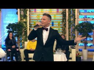 Алекс Малиновский в программе `Доброго здоровьица!` поeт песню `Всё для тебя`