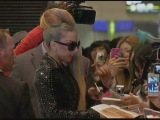 Lady Gaga meets fans in Japan