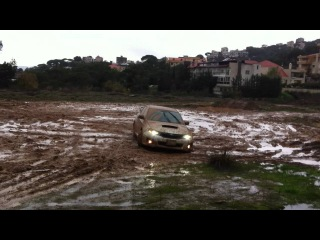 Subaru Impreza WRX STI 2011 in the mud