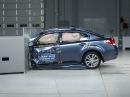Краш-тест 2013 Subaru Legacy small overlap test