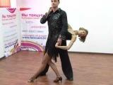 Обучение танцу Хастл бейсик ч.3 (видео онлайн) [uroki-online.com]