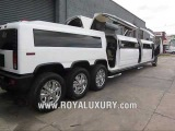 Triple Axle H2 Hummer JET DOOR limo limousine - www.ROYALUXURY.com