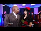 720pHD - WWE SmackDown! 11/29/11: Kaitlyn, Aksana, Hornswoggle, Teddy Long & Sheamus Backstage