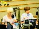 110926 Eunhyuk Eeteuk dancing to A-CHa A-CHa Trot Version!! @ Sukira KTR (SUPER JUNIOR)