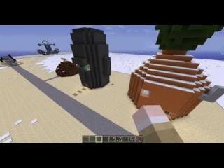 город Bikini Bottom (город Спанч Боба) Minecraft
