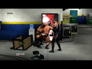 WWE 13 Gameplay Backstage Brawl Triple Threat
