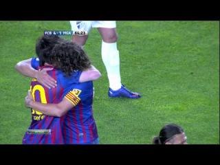 FCB - MGA 4-1 Goal Messi [New Record] by NewsBarca