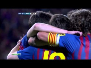 FCB - MGA 3-1 Goal Messi by NewsBarca
