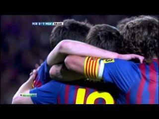 FCB - MGA 3-1 Goal Messi by NewsBarca