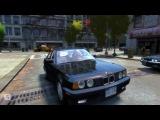Grand Theft Auto IV - BMW 535i E34 - (v3.0) - Roman Taxi - HD - PC