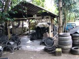 ReCycled Rubber Tire Chair and Furniture Factory