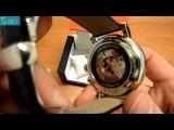 TISSOT Carson Black Leather Automatic Chrono Mens Watch T0684271605100 - E-oro.gr