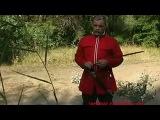 Рубка лозы. Показывает родовой донской казак. Азов 2006