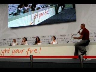 ESC 2012: Ukraine 2nd Press Conference Part 1