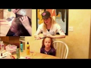 Петля-стайлер, мастер-класс по плетению детской причёски