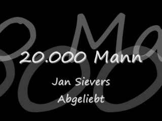 20.000 Mann - Jan Sievers [lyrics]
