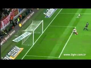Galatasaray Vs Beşiktaş 3-2 Maç Özeti Goller 2-26-2012