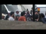 Shahrukh Khan Katrina Kaif Yash Chopra In London Marble Arch Filming New Movie 2012
