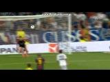 Messi Amazing Free Kick Goal real madrid 2-1 barcelona SUPERCOPA 2012