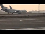 Iran air boing Уникальные кадры приземления Боинга 727