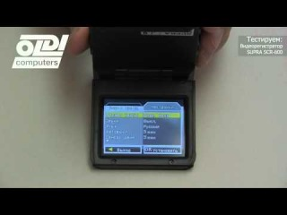 Обзор автомобильного видео регистратора SUPRA SCR-600