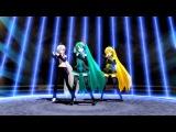 (HD)【MMD】メグメグ、いえふとももです☆ファイアーエンドレスナイト