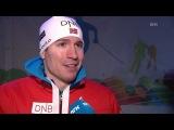 Emil Hegle Svendsen after winning men's sprint GOLD - WCH Nove Mesto 2013