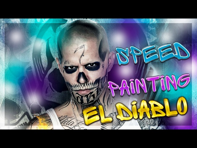 Speed Painting | El Diablo | Эль Диабло | Suicide Squad | Отряд самоубийц