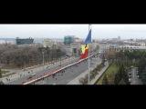 День Румынии в Кишинёве снятый с дрона