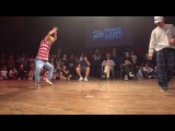 YASS(Beat Buddy Boi) vs MAiKA(RUSH BALL) BEST4 HIPHOP  DANCE@LIVE 2017 CHARISMAX KANTO