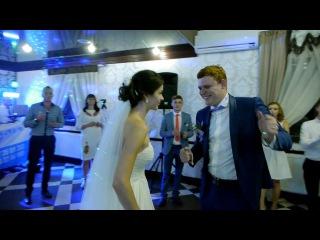 Веселі кадри з весілля Олександра та Олени