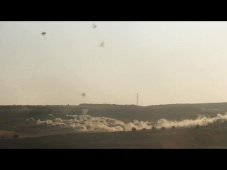 Battle of Aleppo: Cluster bomb strikes on rebel positions during their ongoin counter-offensive