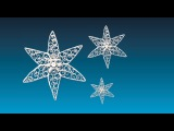 Quilling Star 13 - The Star of Hvide Sande