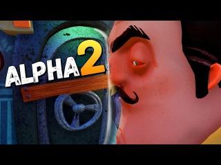 Hello Neighbor Alpha 2 ○ полное прохождение ○ МОНСТР В ДОМЕ!?