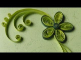 Paper Quilling Greeting Cards  Flower Hand Works  HandiWorks #12