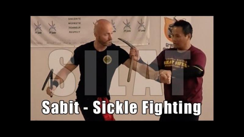 Silat Suffian Bela Diri - Sickle Knife Defence