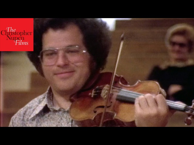 Itzhak Perlman Virtuoso Violinist I know I played every note Documentary of 1978