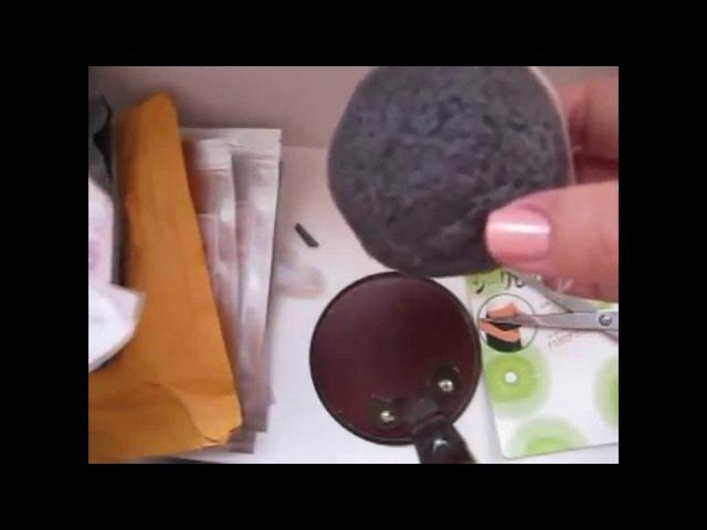 Aliexpress. Unboxing. Губка Konjac, магнитные кольца и Slim Patch для похудения