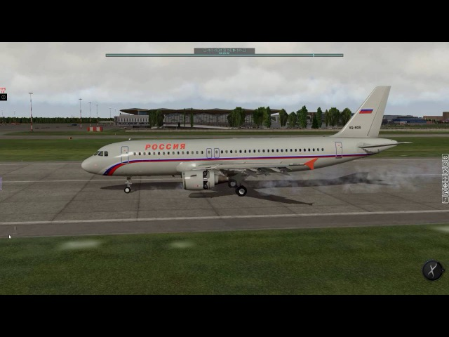 X-Plane 2016-08-30 LOWW-ULLI SDM6604 Manual Landing 28L