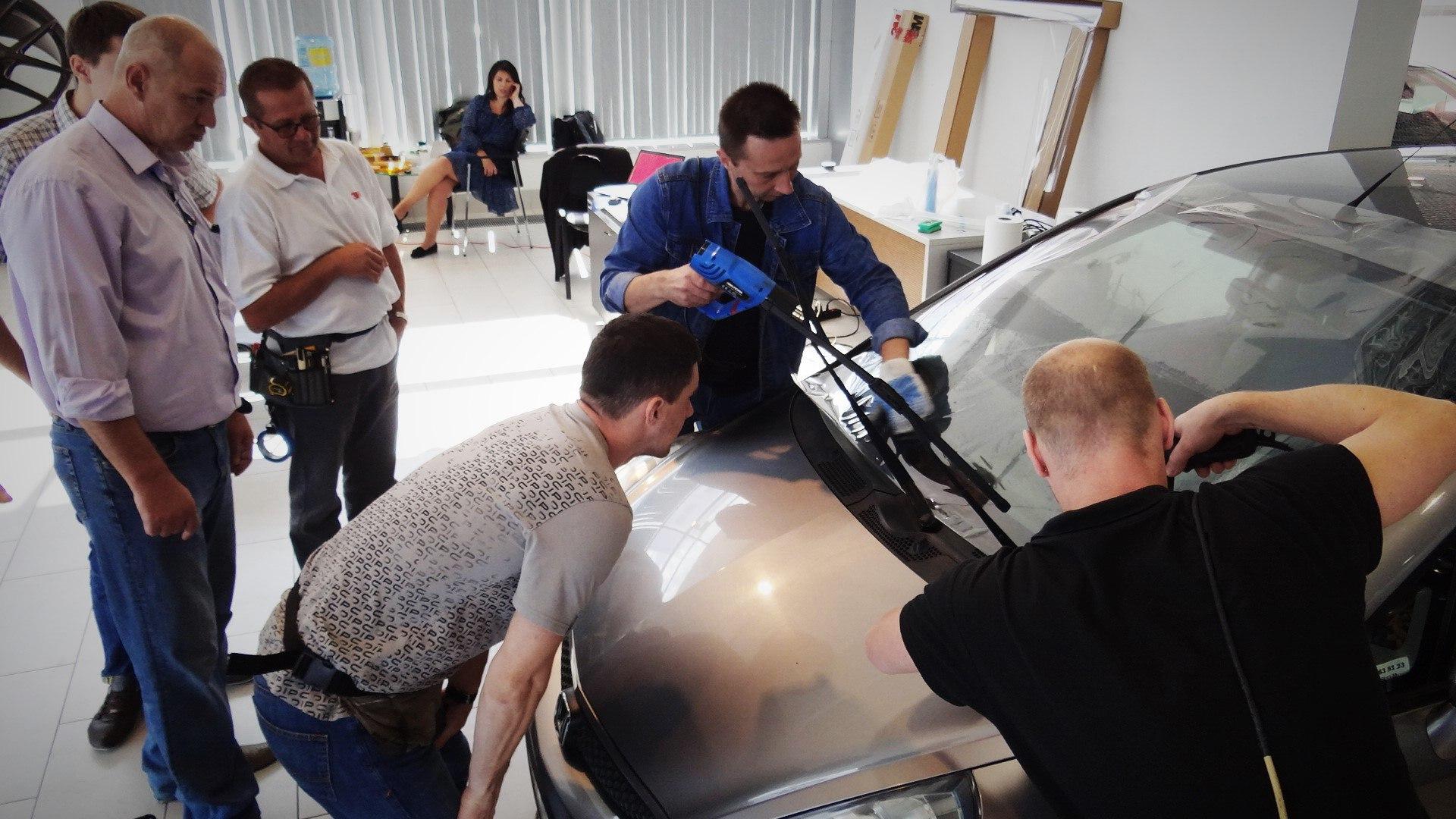 тонировка авто спб семинар 3М