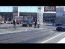 Toyota Supra (built) VS Nissan R35 GTR (e85FBO) drag race (SIV 2015)