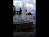Бугульма. цветной фонтан)(светится вечером)