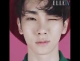240516 Ки на странице Elle Korea в Facebook.