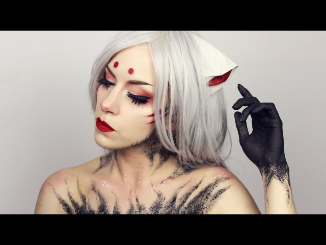 KITSUNE Inspired Anime makeup | Pale Canvas