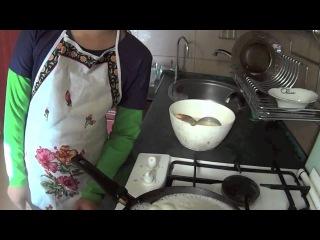 блины на воде готовим на кухне (рецепт с секретами)