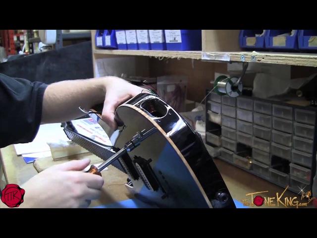 KIESEL Carvin Custom Guitar Build Final Finish, Electronics, Set-Up Ship!
