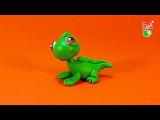 LPS Lizard - polymer clay tutorial Jaszczurka z modeliny