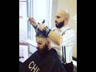 Araik_barber video